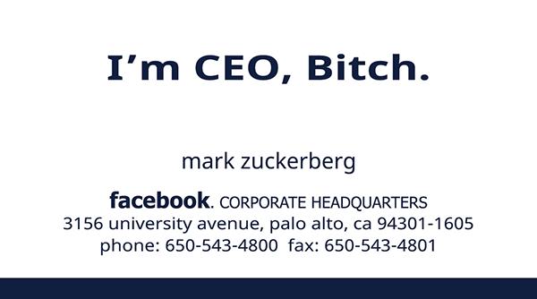 Facebook business card movie replica on student show inshare colourmoves