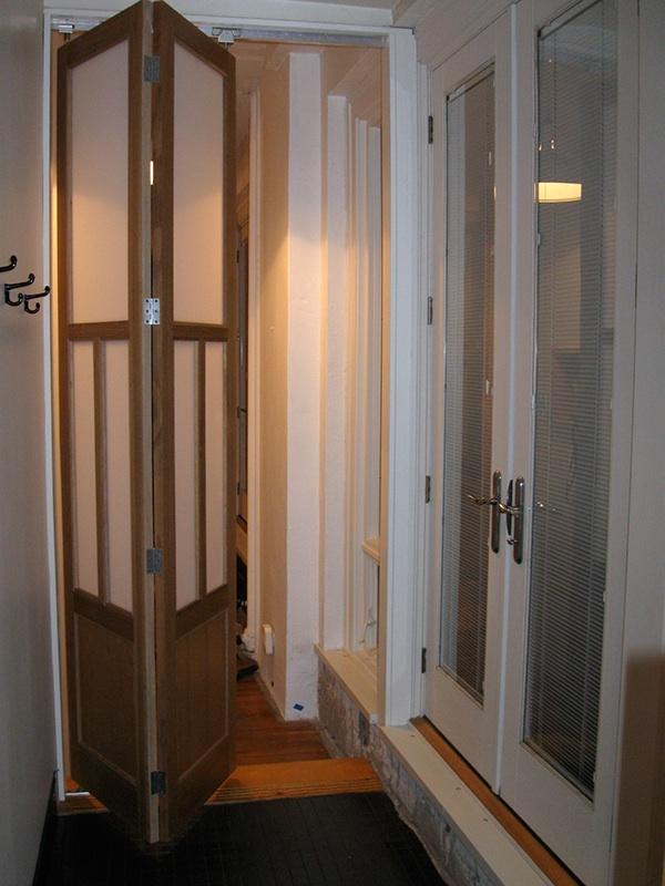 folding bathroom doors on behance