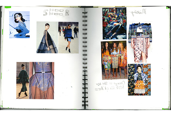 Fashion Design Process Book On Scad Portfolios