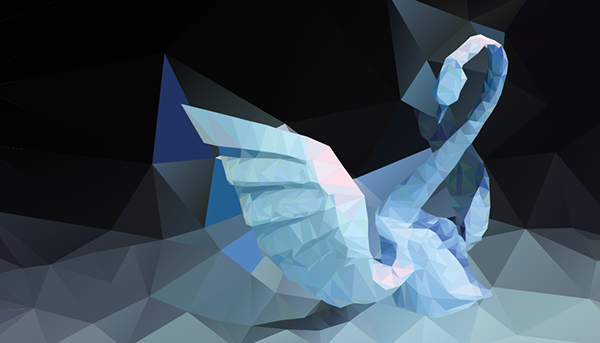 Based On The Oriagami Swan Designed By Vietnamese Origami Artist Hoang Tien Quyet