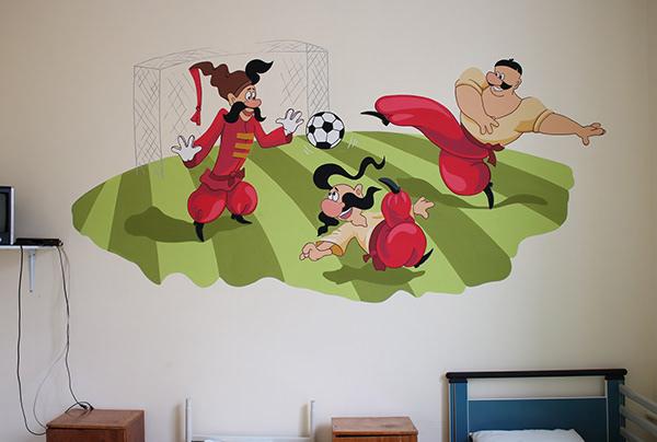 ART WALL IN HOSPITAL