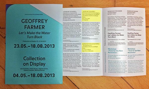brady marks geoffrey farmer migros museum workshops Arduino interactive Digital Arts arts education
