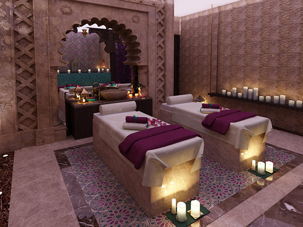 Moroccan Bath Dubai Uae On Behance