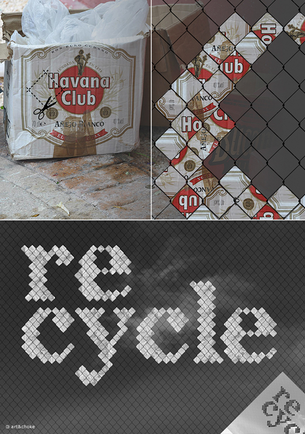 havana recycle truc Troc bozar fence