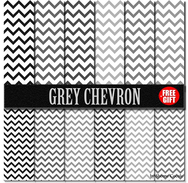 Free Printable Scrapbook Paper Chevron Grey Chevron Paper Scrapbook