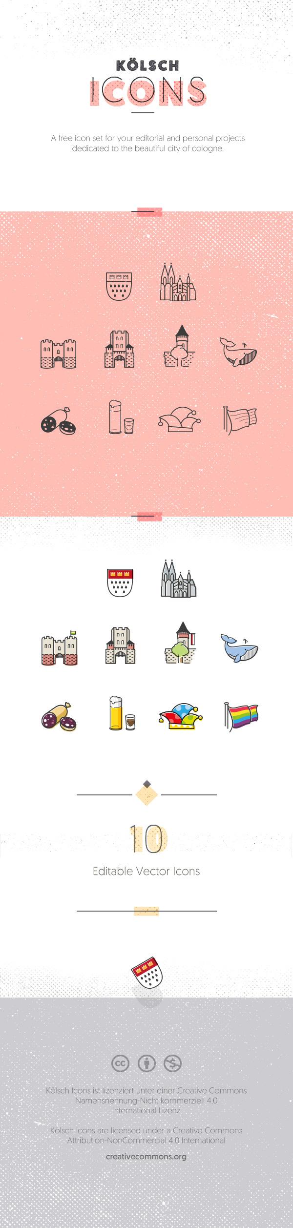 köln icons city wappen dom stadt rheinland karneval Stadtmauer Hahnentorburg free Severinstorburg Ulrepforte