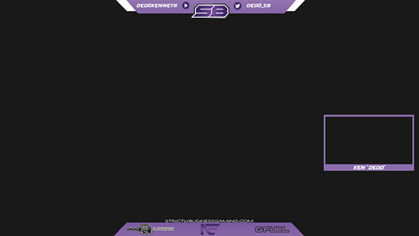 Twitch overlays on behance for Twitch overlay ideas