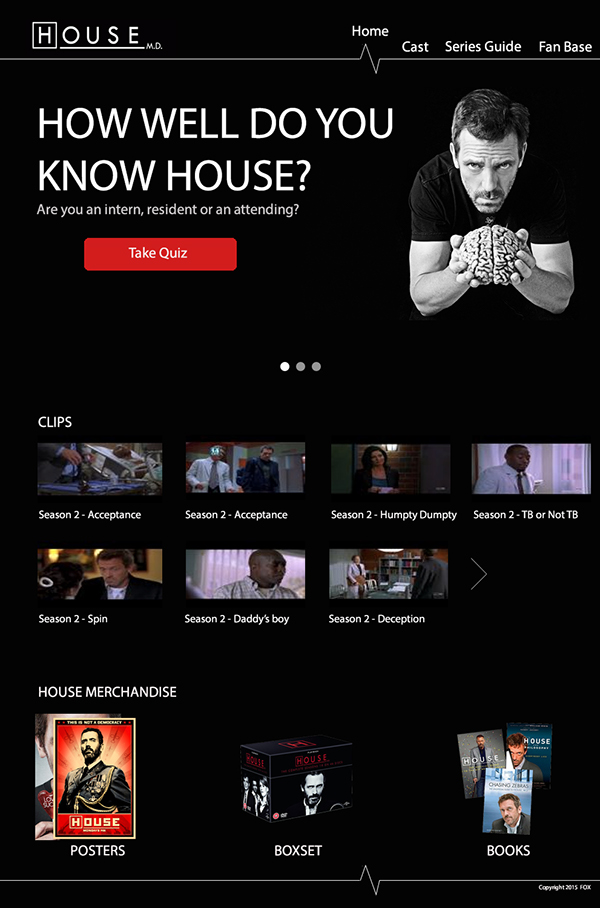 tv series tv show house md Website Classic
