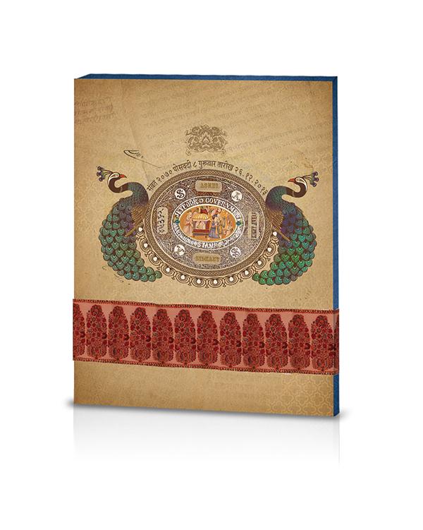 Jaipur Themed Wedding Card On Scad Portfolios