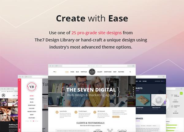 The7 — Responsive Multi-Purpose WordPress Theme on AIGA Member Gallery