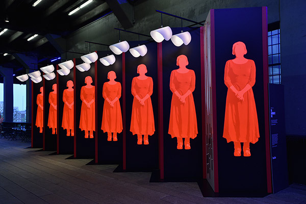 The Handmaid's Tale' - Installation Design on The National