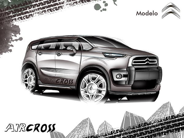 Concept Citro U00ebn C3 Aircross 2014 On Behance