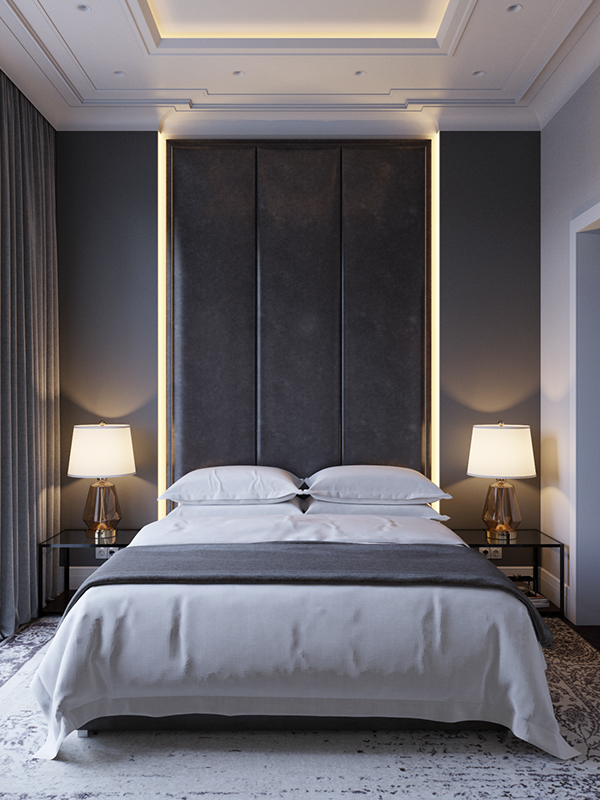 Hotel Room Designs: Modern Bedroom On Behance