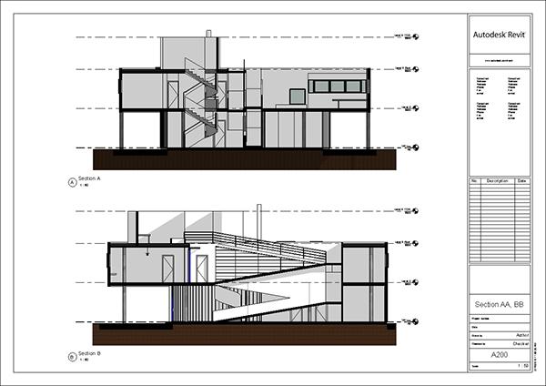 Villa savoye revit model le corbusier 2014 update on behance - Unite d habitation dimensions ...