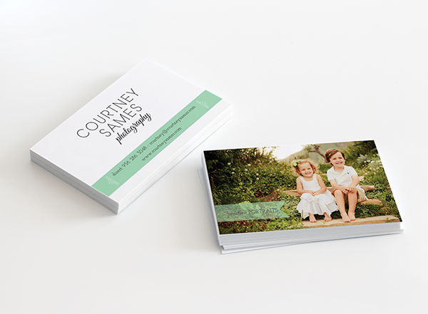 Courtney Is A Talented Portrait Photographer Based In Austin TX These Are Some Sample Pages Of The Welcome Handouts And Business Cards That I Designed For