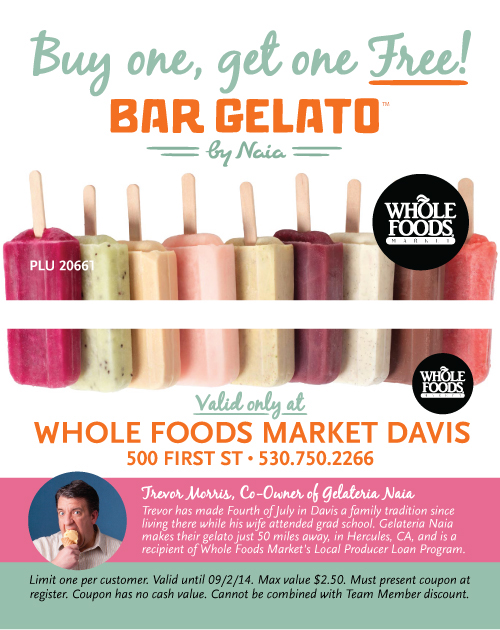Misc Whole Foods Market Davis marketing pieces on Behance