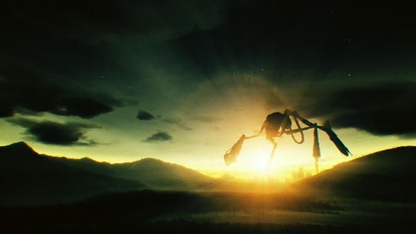 dark music video Cliff Martinez unknown giant Sunrise