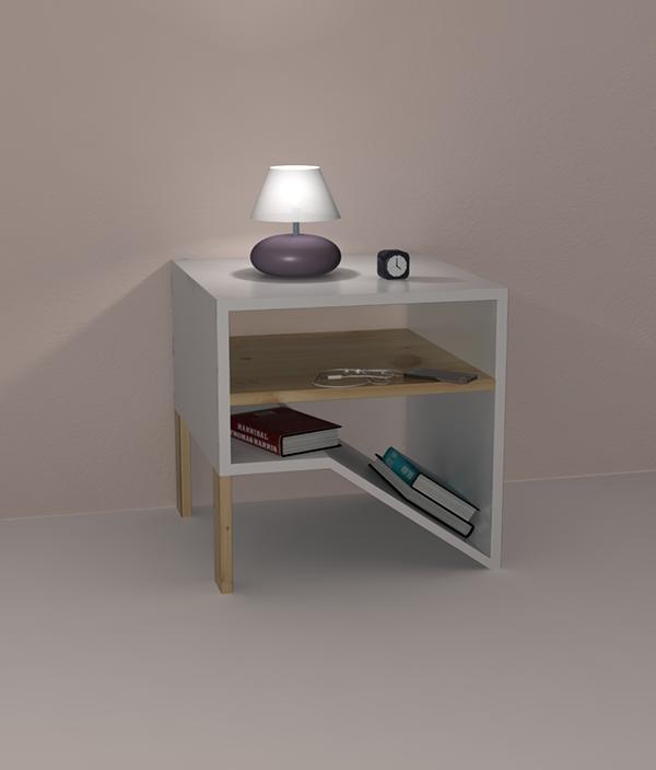 有美感的21款床頭櫃設計欣賞