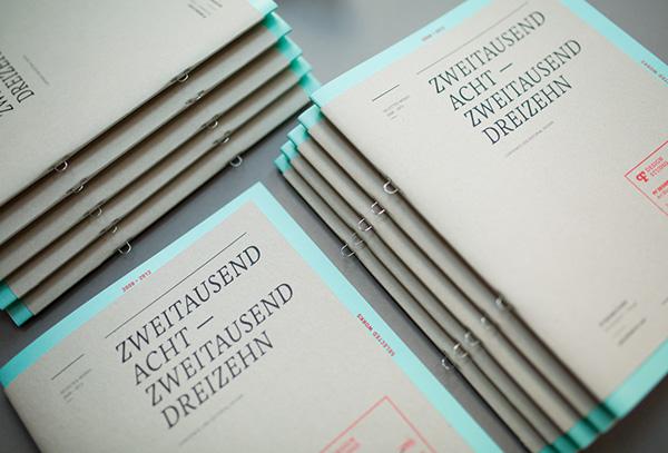 Booklet editorial design selfpromotion magazine CI Corporate Book