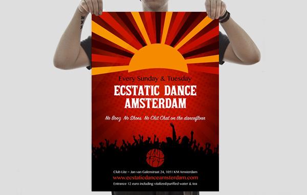 feedback bass musician logo corporate id poster design festivals dj Drum n