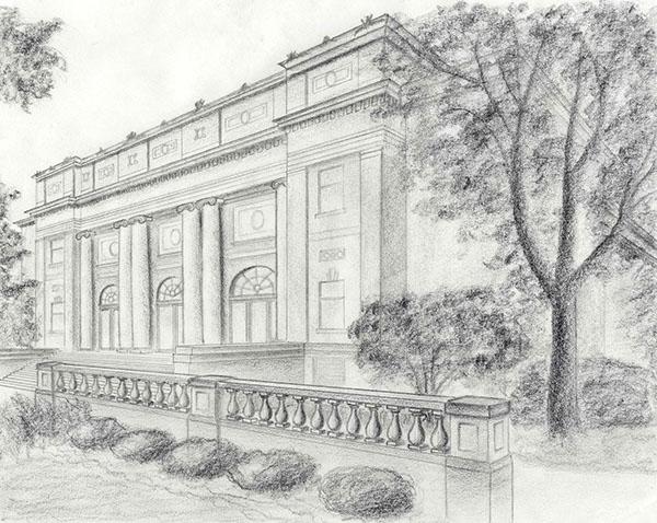 Line Drawings on RISD Portfolios