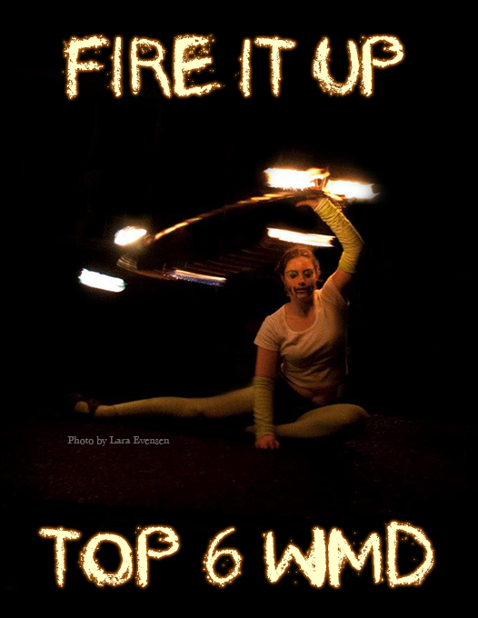 poster performance arts fire dancing