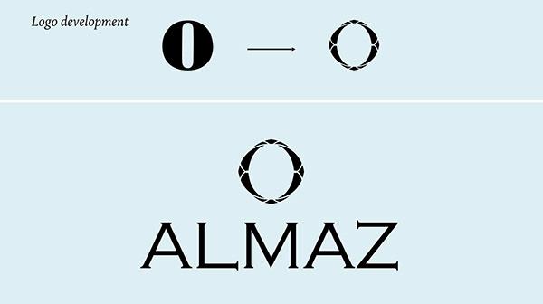 Almaz   Jewelry Branding