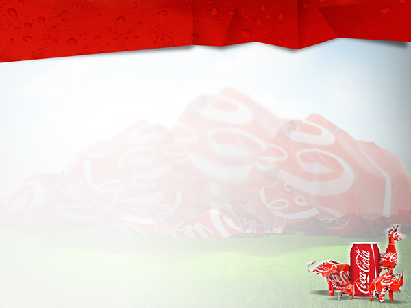 coca cola canners of sa ppt template on behance