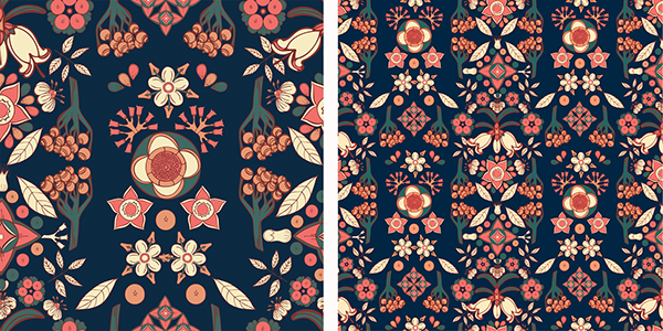 Charming flavours pattern