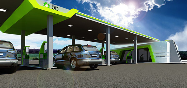 Bp Gas Station Design on Student Show