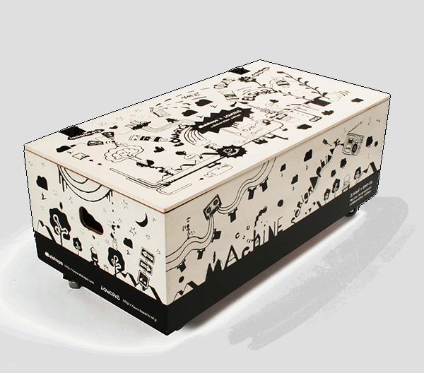 ELSHOPO x LOWORKS silkscreen machine