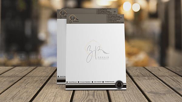 letter pad design