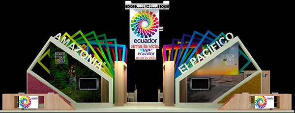 Expo Stand Ecuador : Stand ecuador fitur on behance