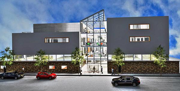 building exterior artlantis render on behance. Black Bedroom Furniture Sets. Home Design Ideas