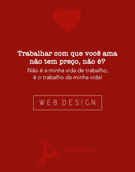 Web designer flat design love design