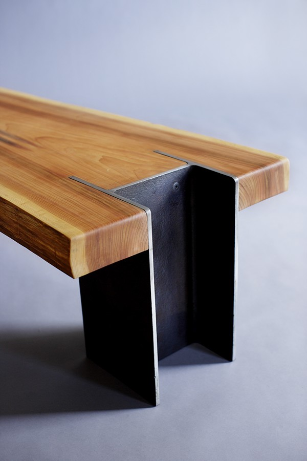 Live Edge Cedar 10x42 Bench