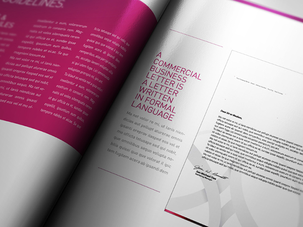 Corporate Design Manual Guide 28 Pages on Behance – It Manual Templates to Download