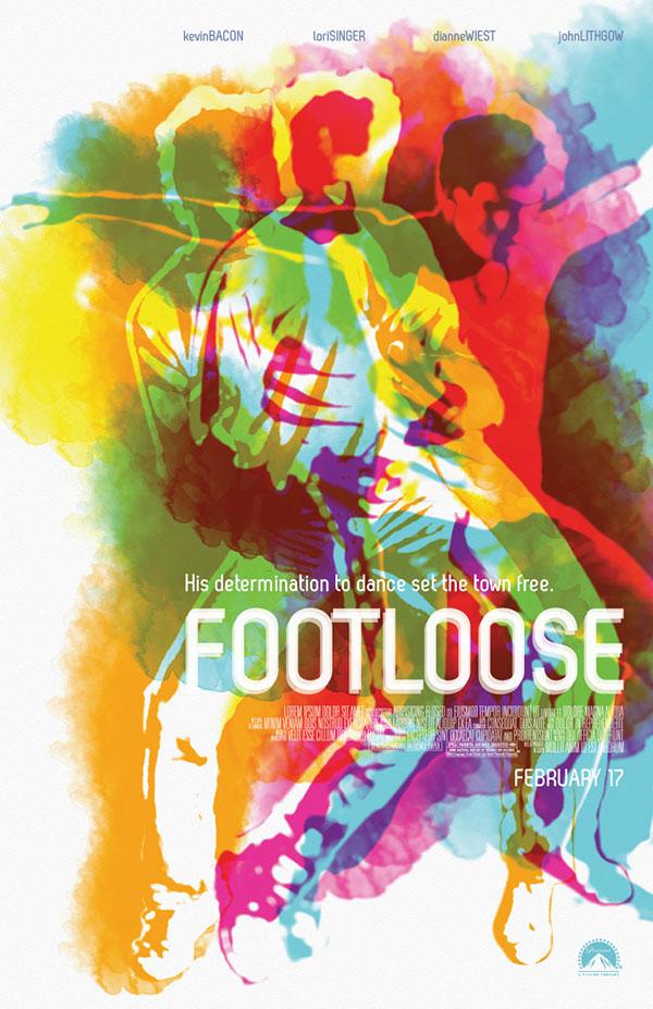 Footloose  1984  Key Art PosterFootloose Movie Poster 1984
