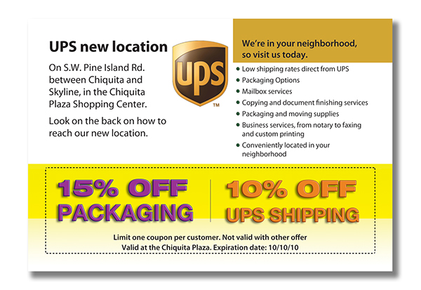 The UPS Store Cape Coral on Behance