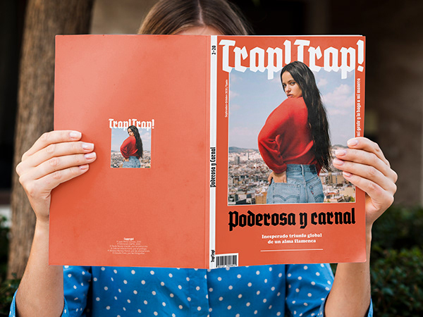 Magazine Layout TRAP! TRAP!