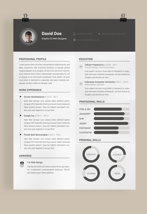 Opposenewapstandardsus  Unique Free Resume Template On Behance With Marvelous Best Words To Use In Resume Besides First Resume No Work Experience Furthermore Resume Salary Requirements With Charming Resume With Salary Requirement Also Stock Resume In Addition How To Start A Resume Letter And Result Oriented Resume As Well As Automotive Service Advisor Resume Additionally Server Job Resume From Behancenet With Opposenewapstandardsus  Marvelous Free Resume Template On Behance With Charming Best Words To Use In Resume Besides First Resume No Work Experience Furthermore Resume Salary Requirements And Unique Resume With Salary Requirement Also Stock Resume In Addition How To Start A Resume Letter From Behancenet