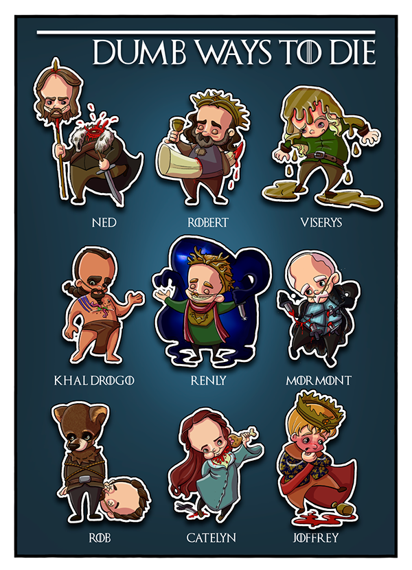 Game Of Thrones On Behance-5721