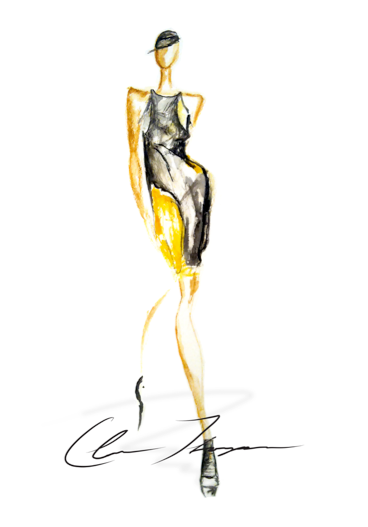Live Runway Sketches On Behance