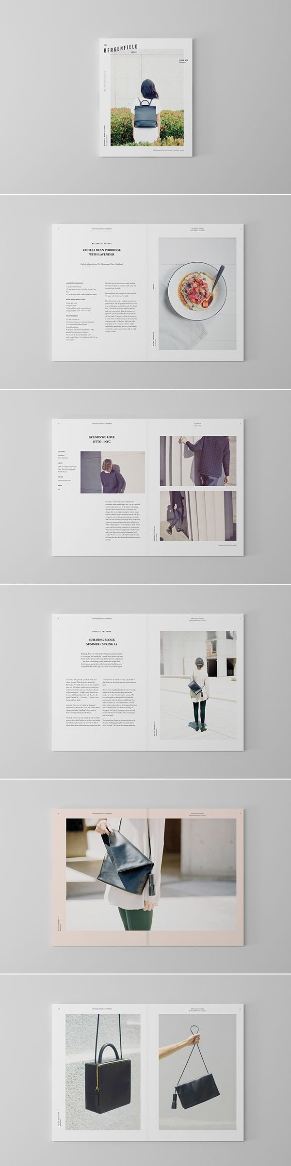 Typography Magazine Design Project My Process On Behance