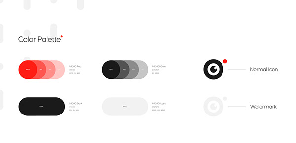 Memo Production - Brand Identity