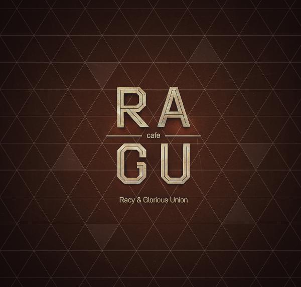 Food  RAGU cafe Ragu Feel Factory drinks cafe bar restaurant menu Logotype logo identity retouch berry cocktails