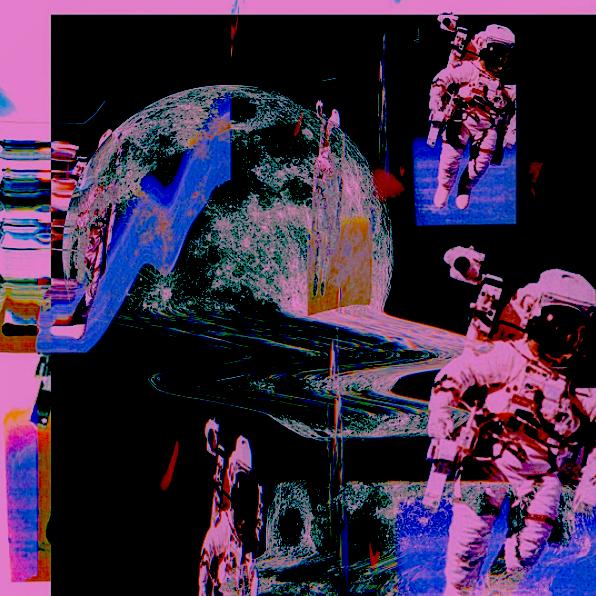 kid cudi man on the moon concept