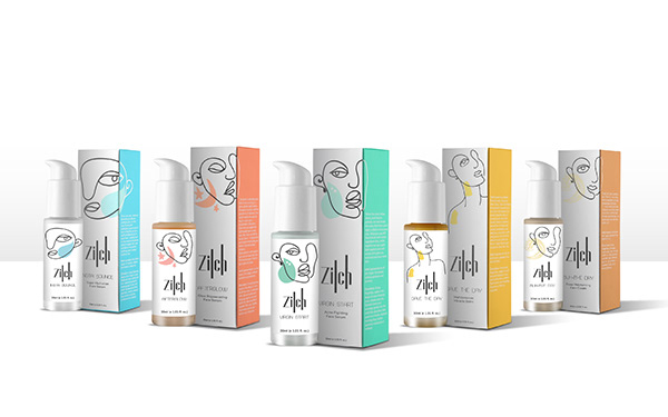 Brand Identity and Packaging Design for Zilch