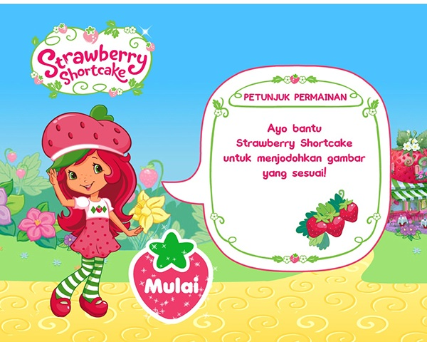 Strawberry Shortcake: Memory Game on Behance