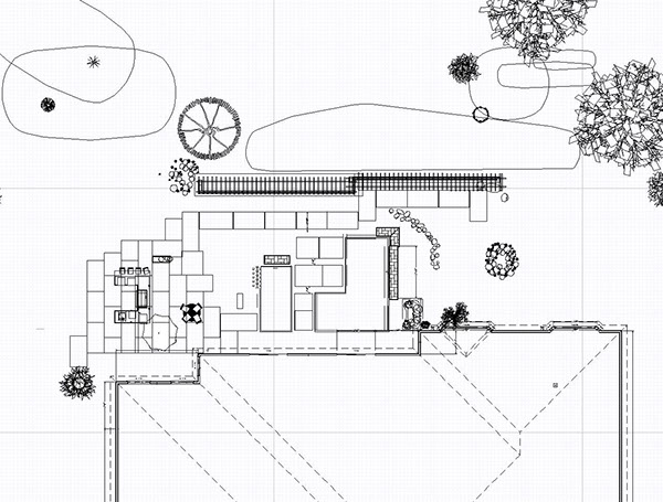 Site plan to conceptual renderings on behance for Site plan rendering software